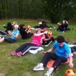 Nieuwe bootcamp-les voor Juni